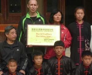 Chen Xiaoxing i uczniowie szkoły