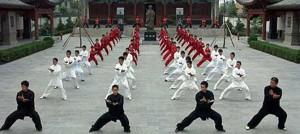 Pokaz szkoły Chenjiagou